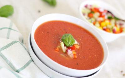 Verse Italiaanse tomatensoep